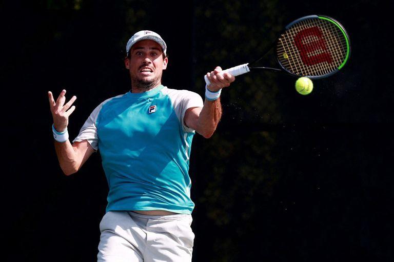 Guido Pella se presentó con una victoria en el cemento californiano de Indian Wells