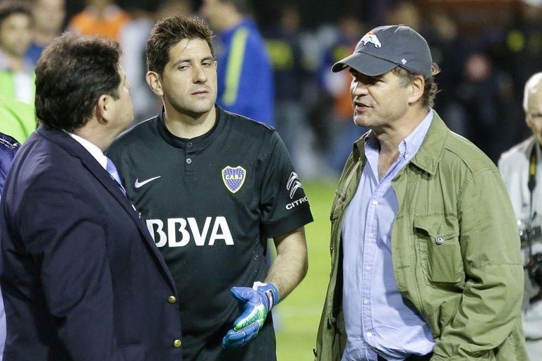 Burzaco, en el superclásico de la Copa Libertadores, tras el ataque a los jugadores de River