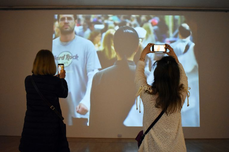 """""""Nómada"""", que forma parte de Bienalsur, se puede visitar hasta mediados de noviembre"""