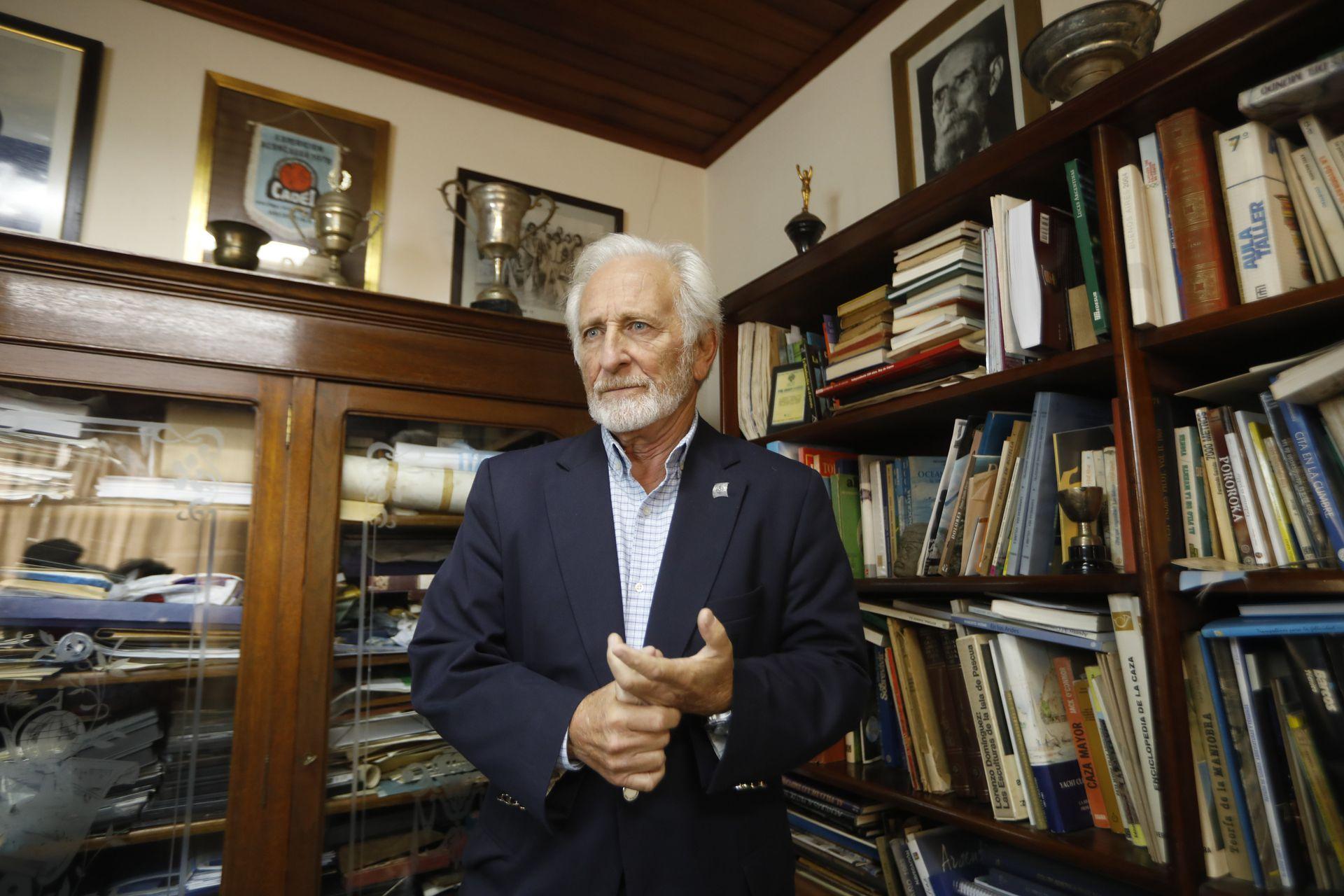"""""""No soy un aventurero, soy expedicionario, creo en la planificación"""", dice Barragán"""