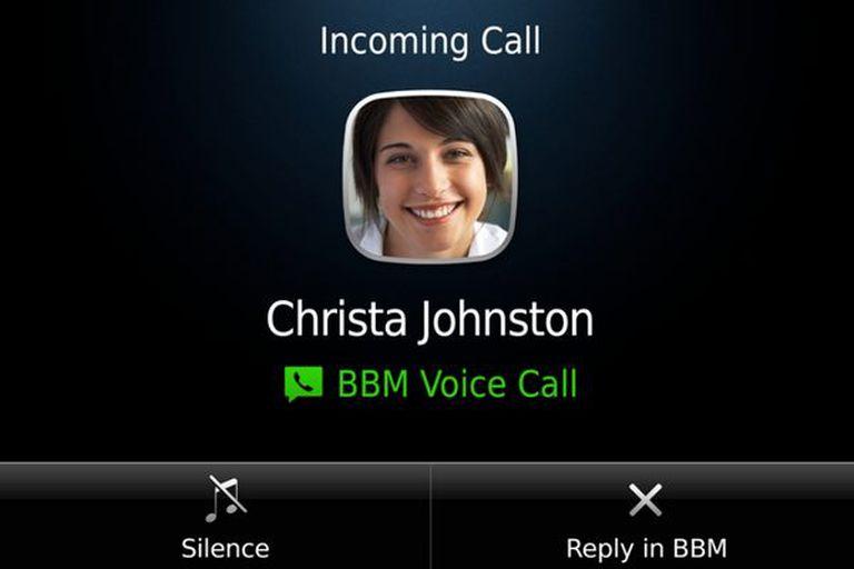 El servicio de mensajería instantánea incorporará llamadas en la próxima versión del BBM
