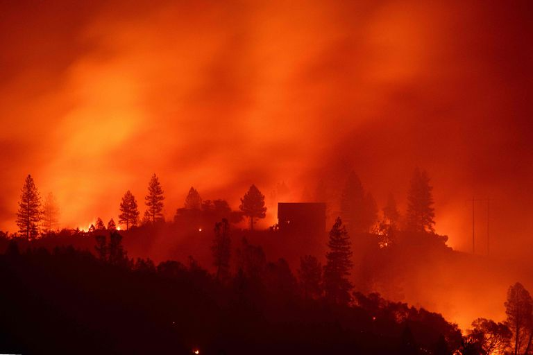 El incendio de Camp Fire fue el más grave que sufrió EE.UU. en 90 años