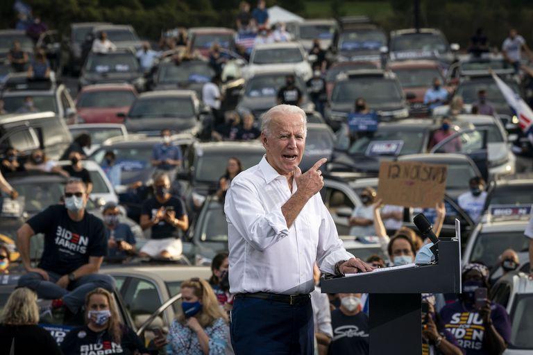 Biden lidera los sondeos y tiene muchas más chances que Hillary Clinton