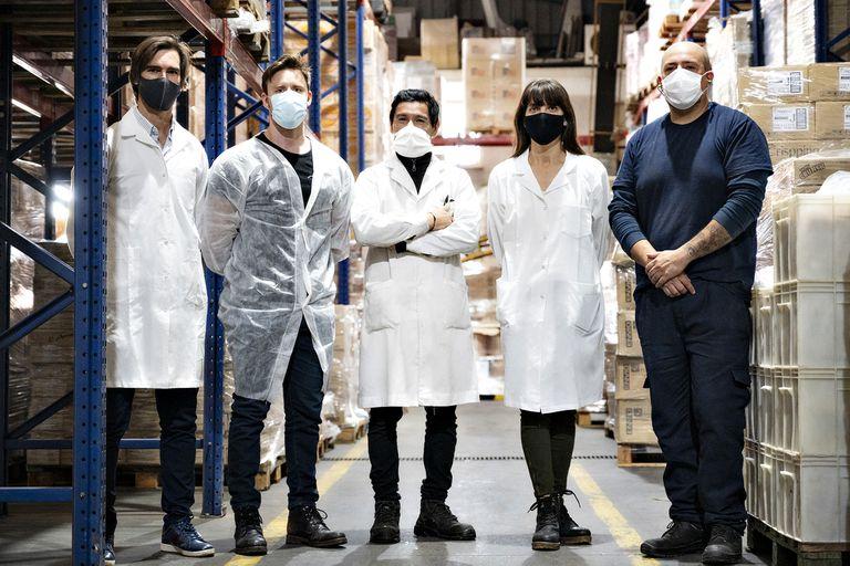 Por la pandemia se tuvo que reinventar y ya factura millones con garbanzos