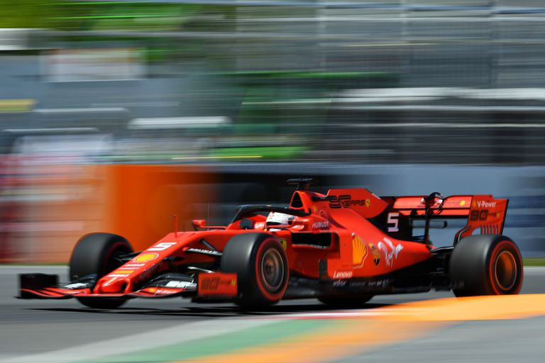F1: la pole de Vettel, el golpe de Magnussen y la marmota que inquietó a Kimi