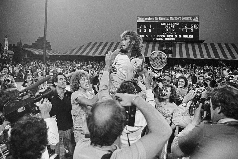 Vilas y el día del Maestro: a 43 años de la epopeya del US Open en Forest Hills
