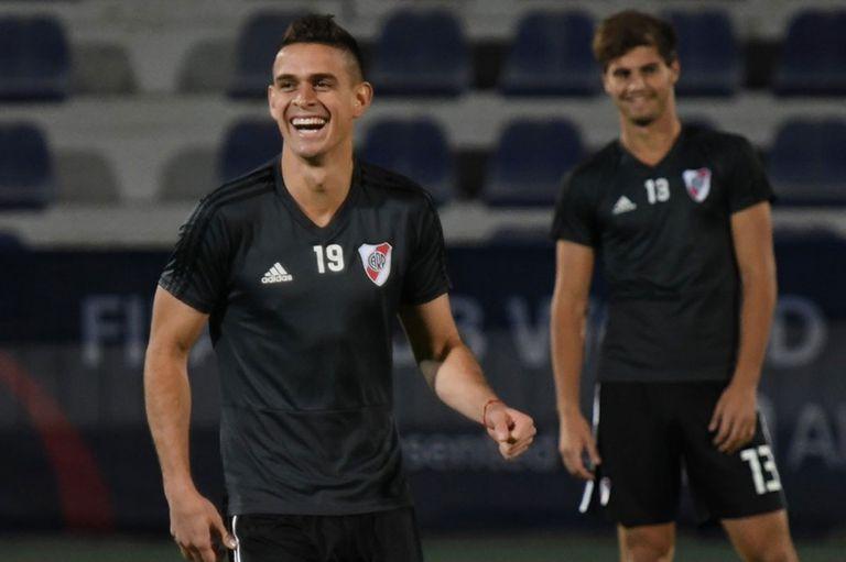 La sonrisa de Borré, en Al Ain