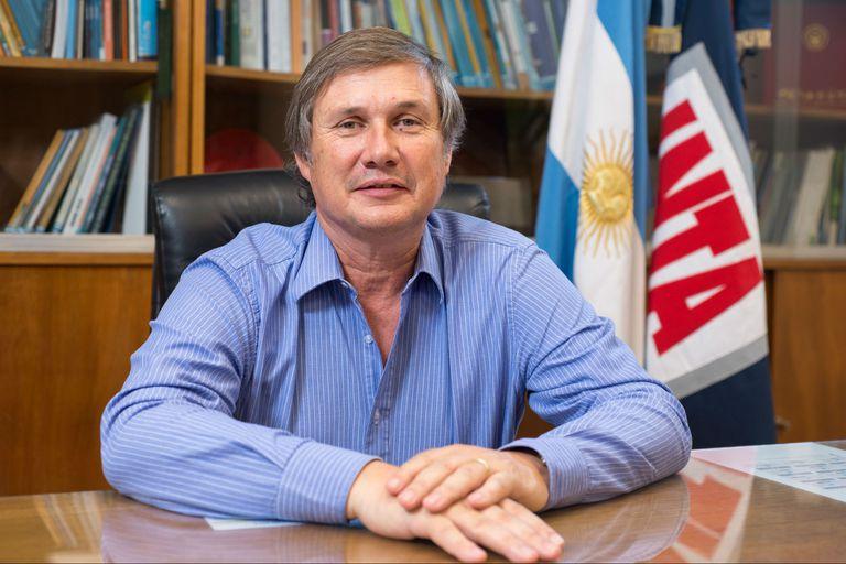 El presidente del INTA, Juan Balbín