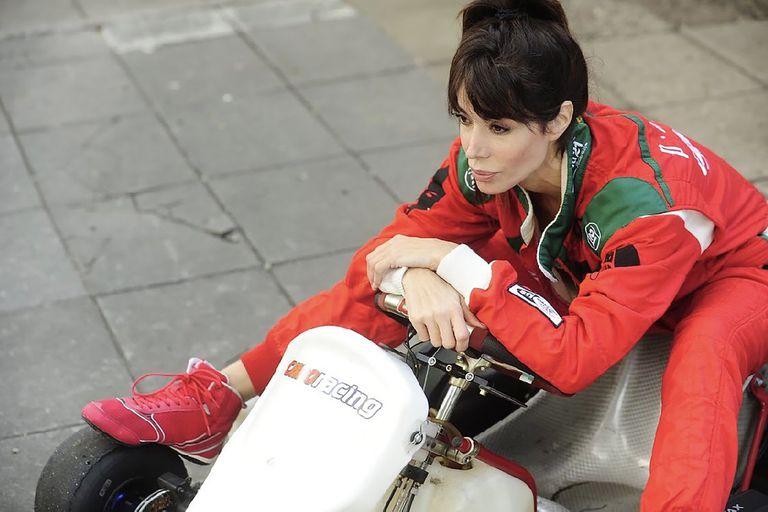 Laura Fidalgo es una apasionada de los autos