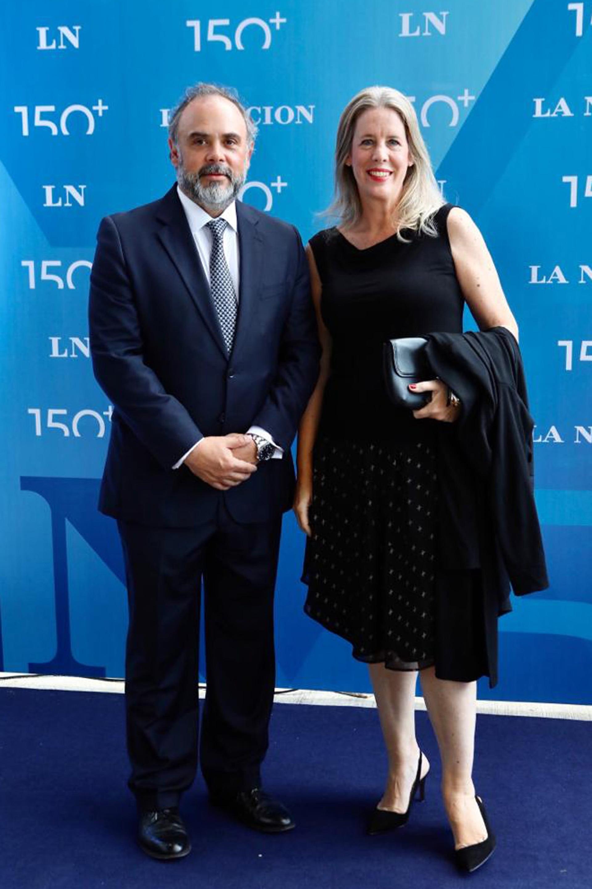Marcelo McGrech y Constanza Gorleri del Banco Galicia