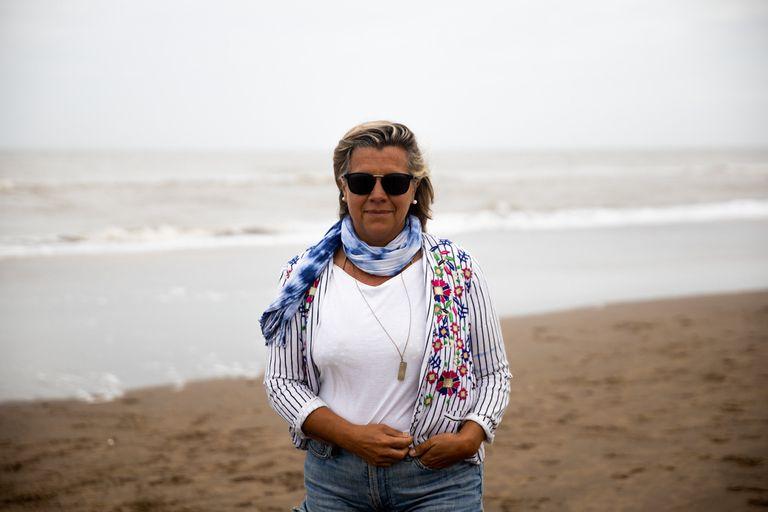 Marcela D´Ambrosio acordó con su ex pareja y sus hijos tener su base en Pinamar y viajar a Capital a visitarlos