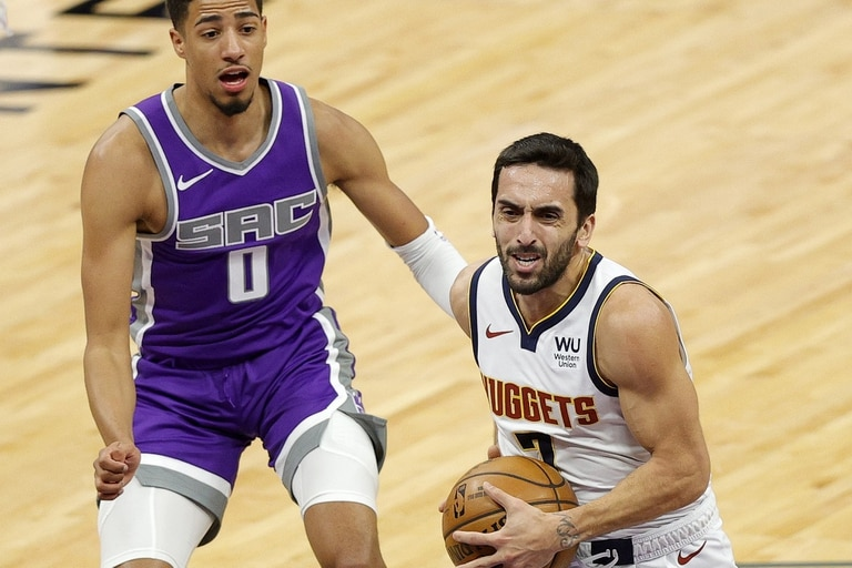 Facundo Campazzo tuvo su récord de minutos y asistencias en la NBA con Denver