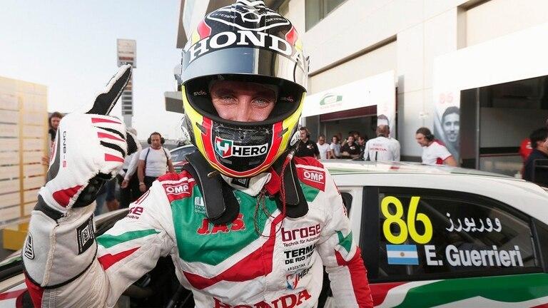 Esteban Guerrieri logró el triunfo en Qatar