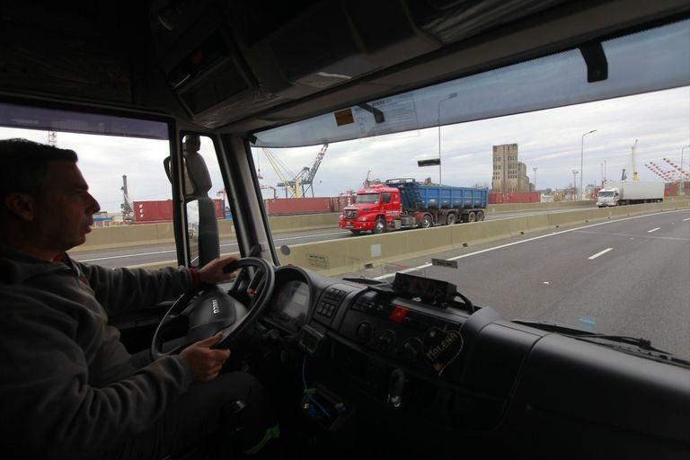 Paseo del Bajo: el tiempo de viaje para camiones bajó de una hora a 7 minutos