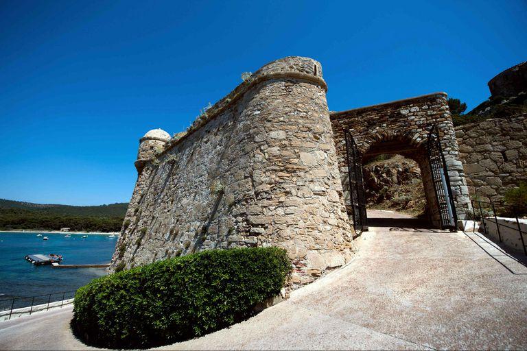 El castillo, construido en el siglo XVII, goza de una envidiable vista de 360 grados