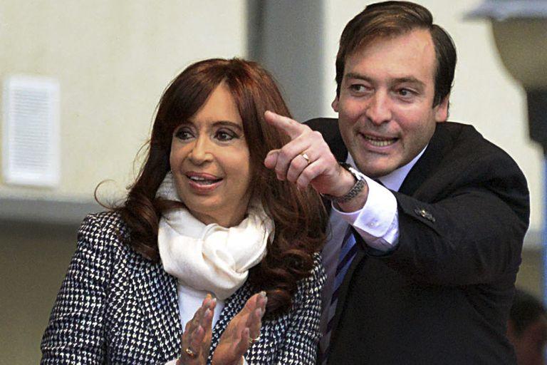 Cristina Kirchner y Martín Soria