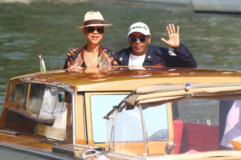 El director Spike Lee y Tonya Lewis