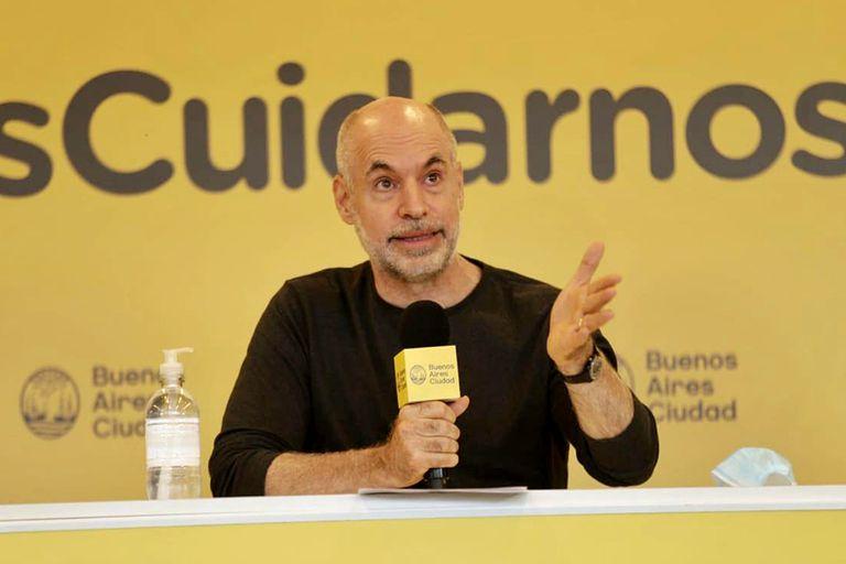 """Horacio Rodríguez Larreta se posicionó en favor de los derechos de propiedad privada y dijo: """"Es una obligación del Estado protegerlos"""""""