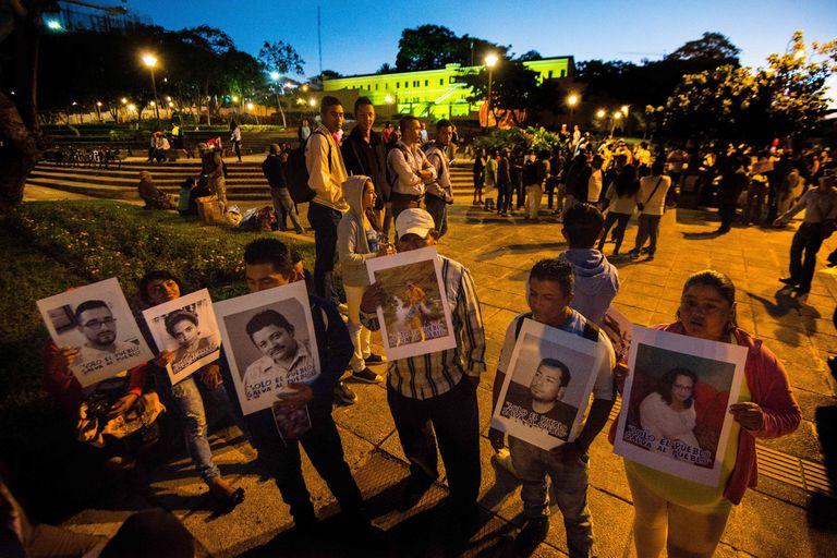 Exiliados nicaragüenses marchan en Costa Rica contra Ortega