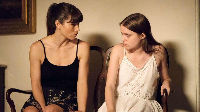 Jessica Biel y Nadia Alexander