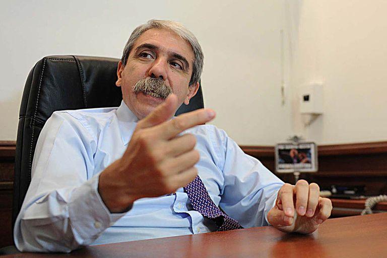 """Aníbal Fernández dijo que no estará en la movilización organizada por los fiscales y criticó """"el oportunismo"""" de la oposición"""