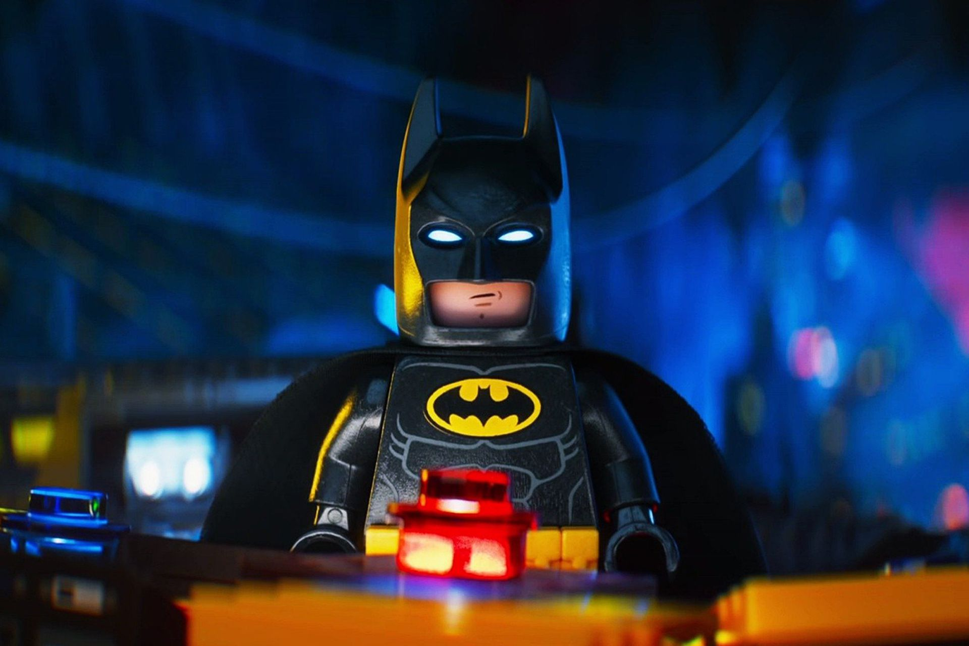 La versión Lego de Batman, con la voz en inglés de Will Arnett