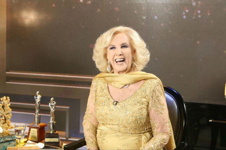 Los 50 años de Mirtha en la TV: los famosos que felicitaron a la diva