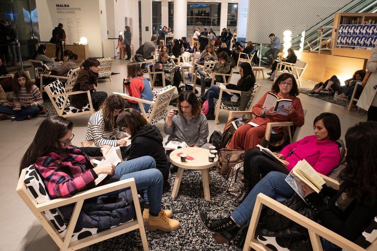 Malba: fiesta de la lectura en invierno y un nuevo ensayo de Luis Chitarroni