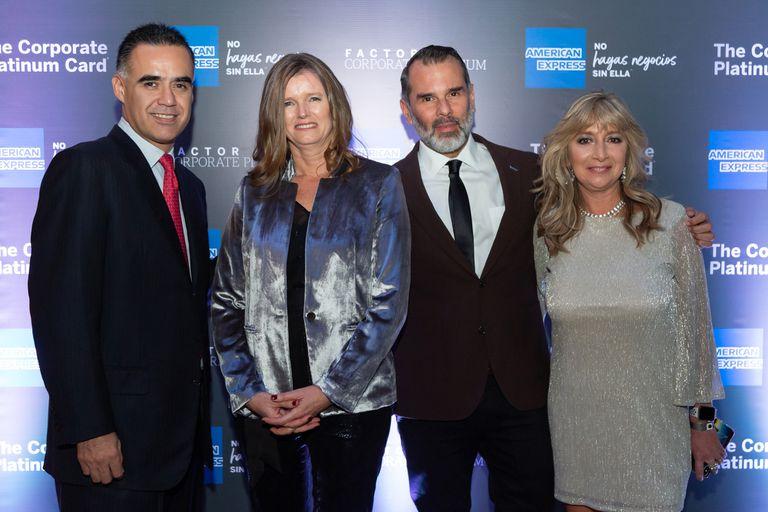 José Luis Mejía, Patricia Furlong, Jorge Delara y Marcela Semidubarsky