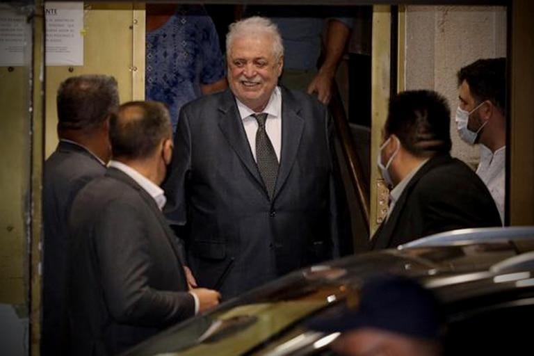 Ginés González García al retirarse esta noche del Ministerio de Salud