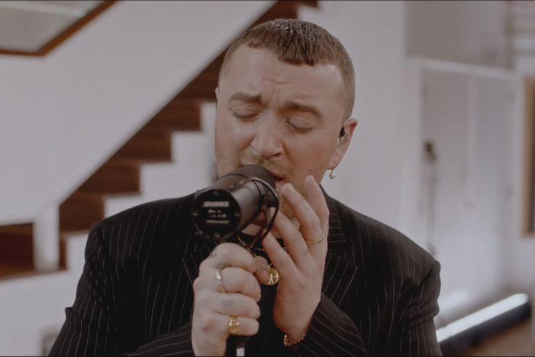 Sam Smith presentó esta noche su disco Love Goes, desde los estudios Abbey Road