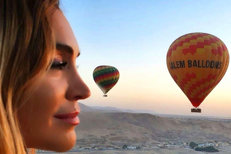 El increíble viaje a Dubai y Egipto de Fátima Florez con su marido