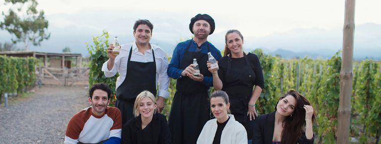 Lepes, Martitegui y Colagreco, co-creadores de Villavicencio de autor