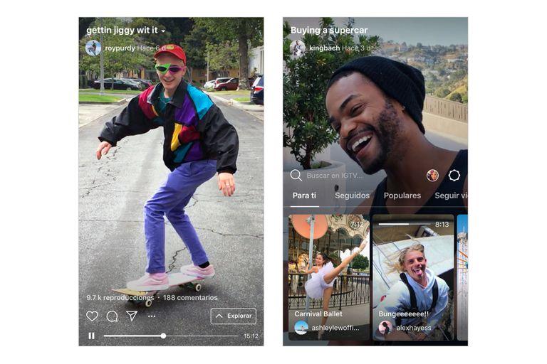 Así se ve IGTV, la aplicación independiente de Instagram enfocada en video vertical