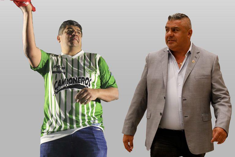 Pablo Moyano y Claudio Chiqui Tapia