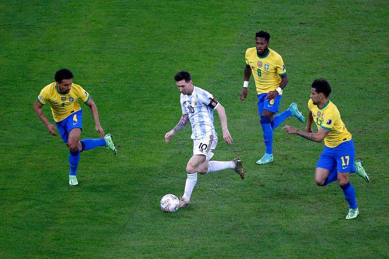 Cómo ver online la gran final entre Argentina-Brasil