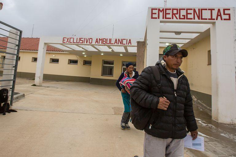Cuántos extranjeros se atienden por año en el hospital de La Quiaca