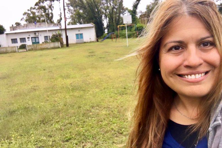 """""""Estamos acostumbrados al aislamiento, cuando llueve nadie puede salir de acá"""", reconoce Mónica Tortone, maestra de la escuela rural de El Balde"""