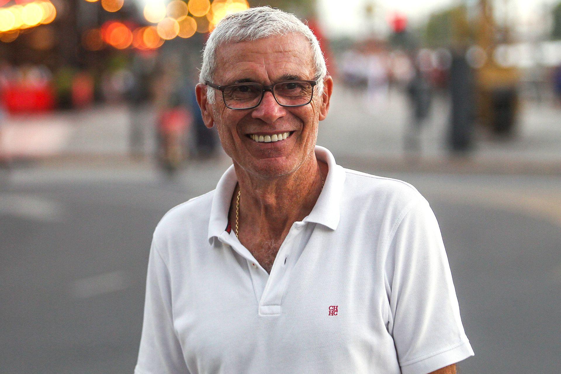 Héctor Cúper a los 62 años