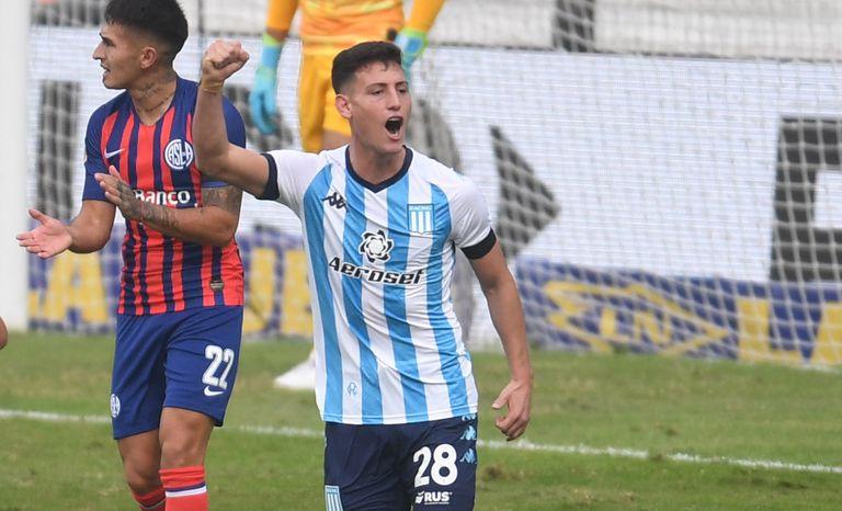 Racing le ganó 2-0 a San Lorenzo y logró el boleto para los cuartos de final