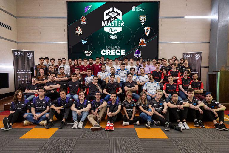 Los diez equipos de la Liga Master Flow 2020