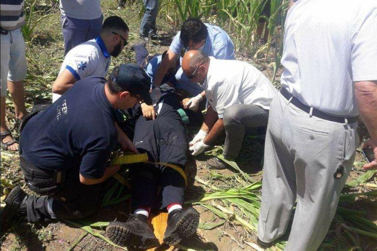 Fue dado de alta el copiloto que se accidentó en un avión militar en Córdoba