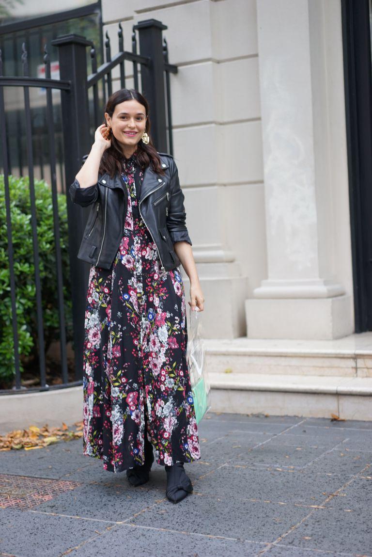 Vestido: Tibetano Campera: Inedita Botas: Zara