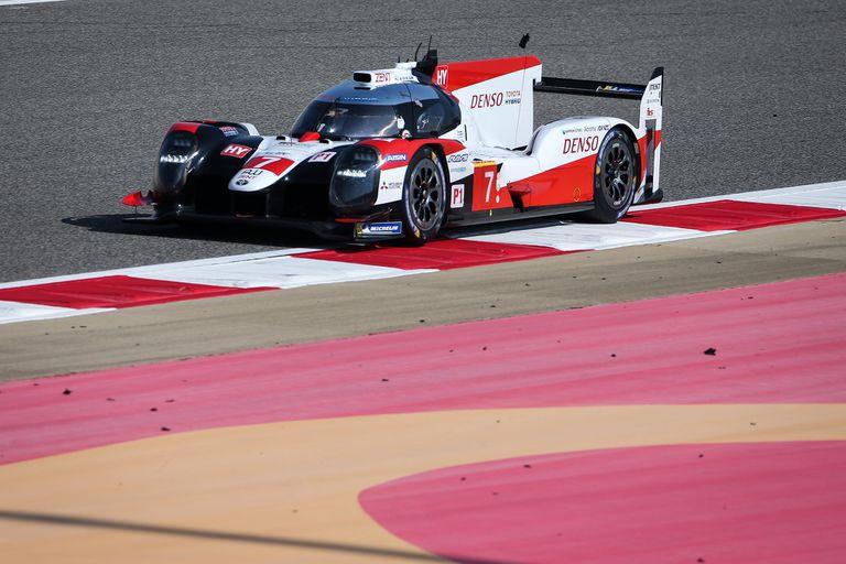 El Toyota TS050 híbrido al que el cordobés llevaron a la victoria en Bahréin (dos veces), Inglaterra y Bélgica, con 50% de efectividad en carreras.