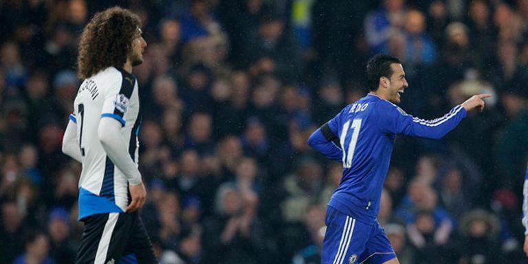 Chelsea goleó a Newcastle