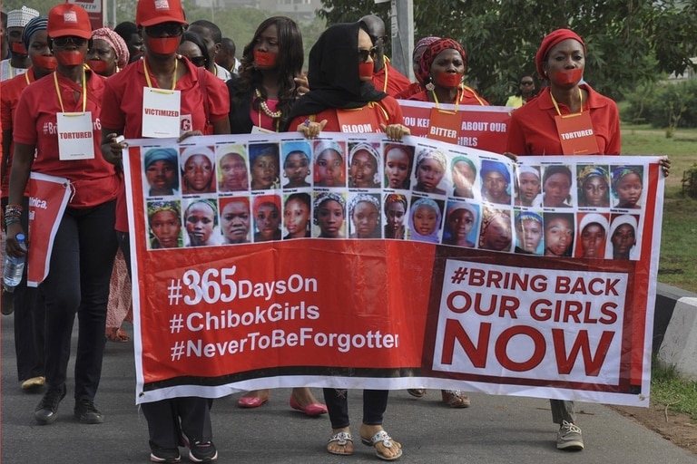Boko Haram secuestro jóvenes adolescentes Nigeria