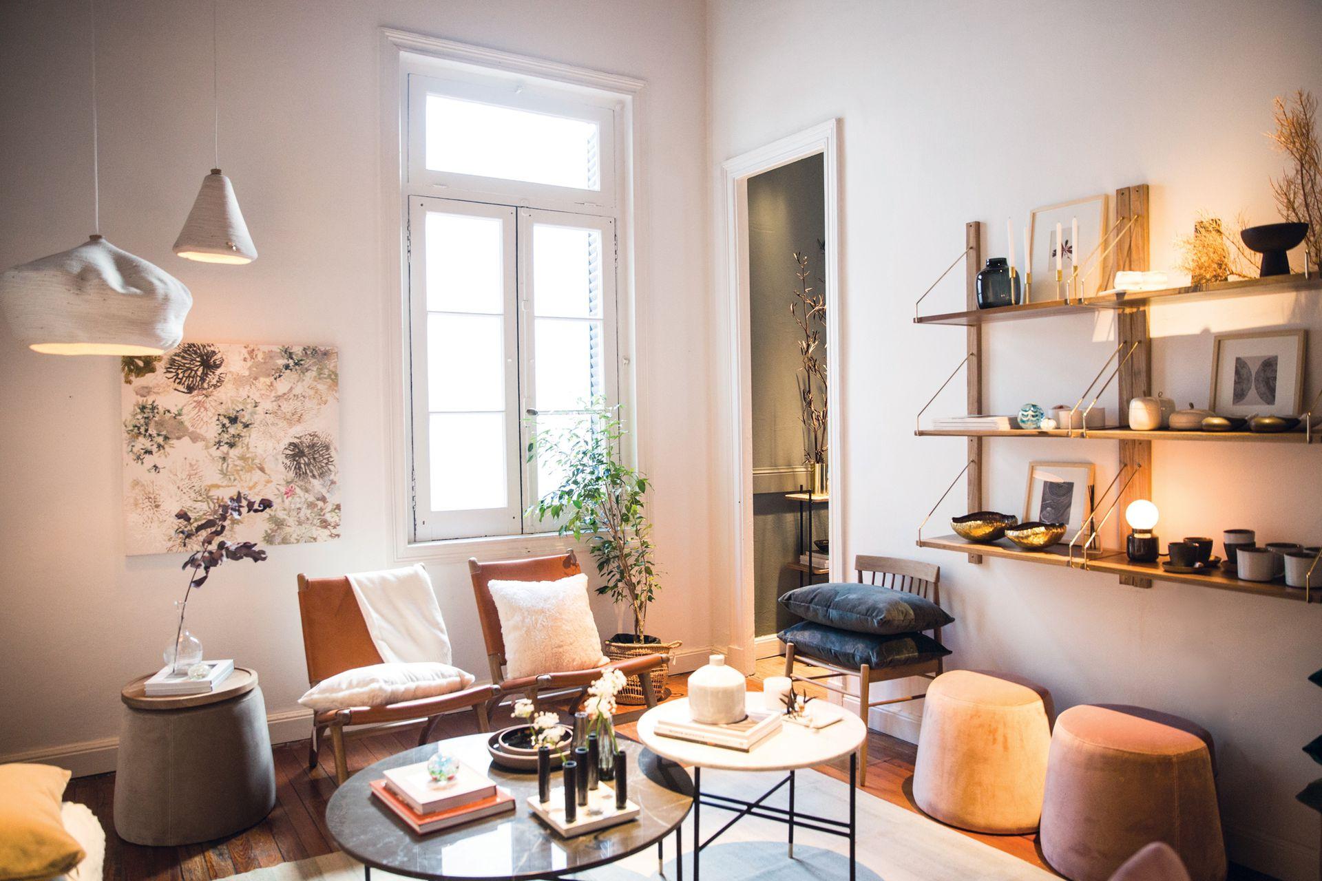 La tienda de decoración y el estudio de Bárbara Bertone conviven en el mismo espacio de La Rue des Artisans