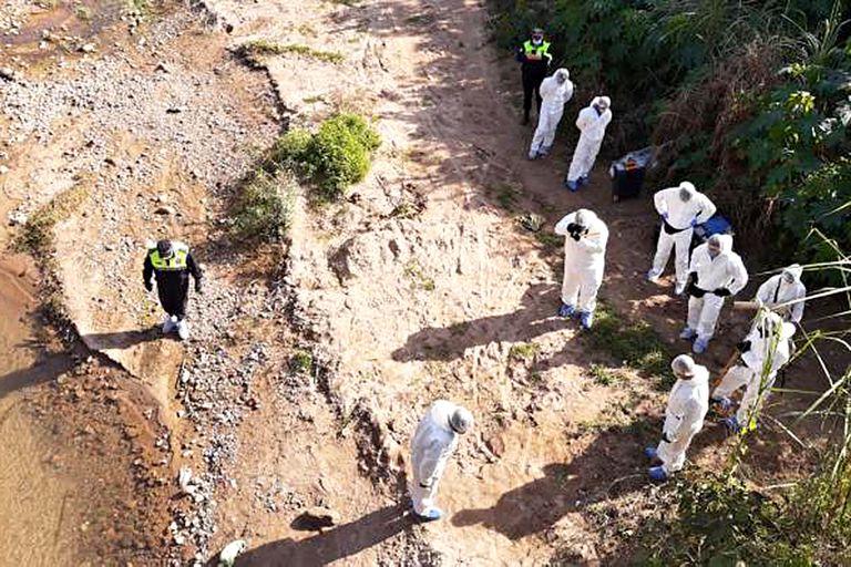 El cuerpo de la menor fue encontrado desmembrado y quemado