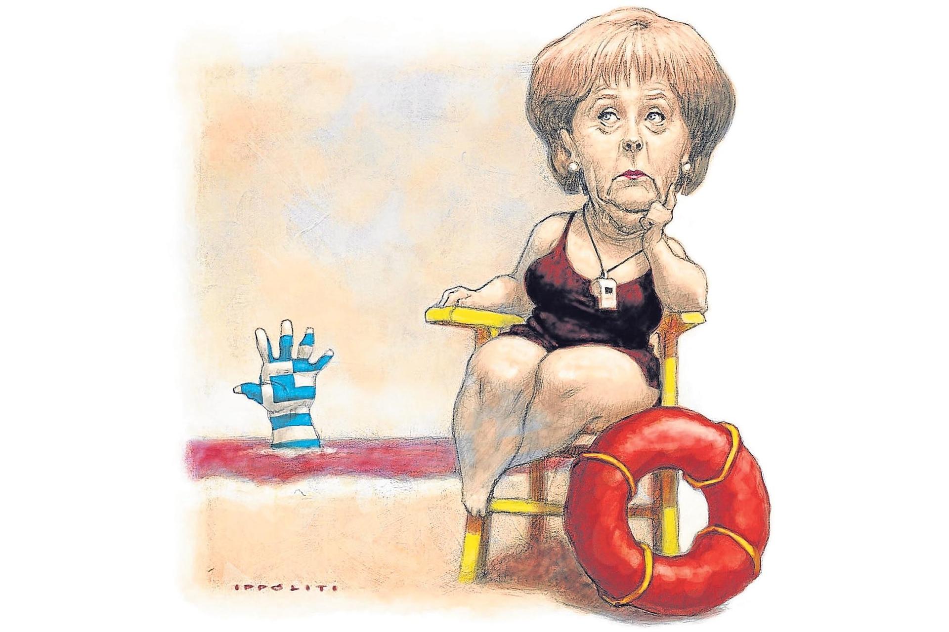 Angela Merkel, 2011. El autor fue reconocido con el premio SIP