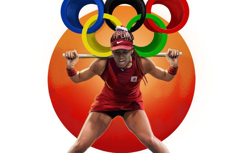 Naomi Osaka, víctima del peso de la presión olímpica